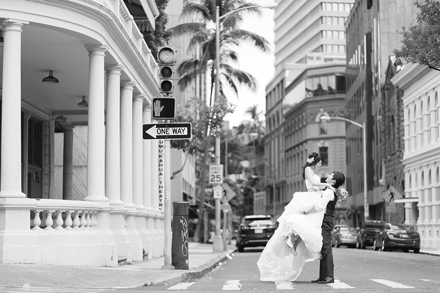 カメラマンTAKA AFLOAT Hawaii Wedding